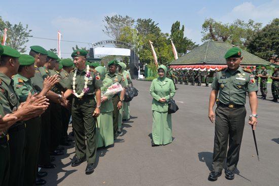 Kunker Pangdam V/Brawijaya ke Korem 082/CPYJ