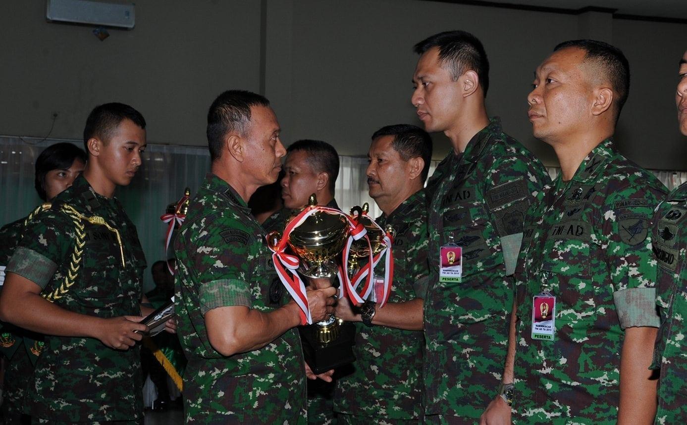 Danyonif Mekanis 203/AK Mayor Inf Agus Yudhoyono, M.SC., MPA, MA., Kembali Ukir Prestasi