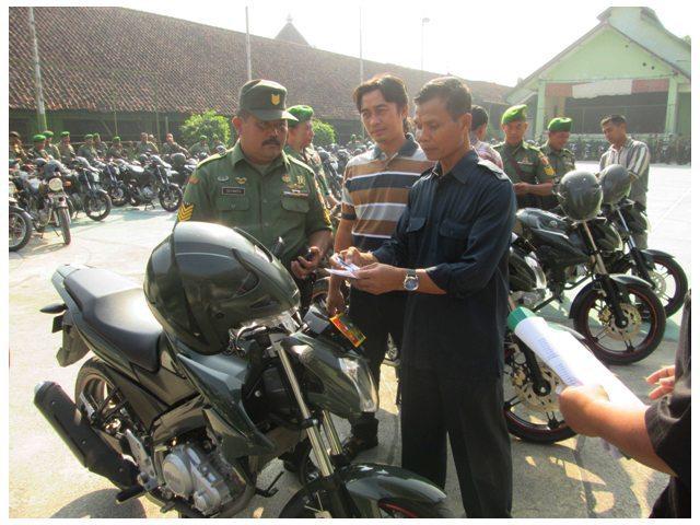 Pemeriksaan Kendaraan sebagai Salah Satu Langkah Pengamanan Satuan