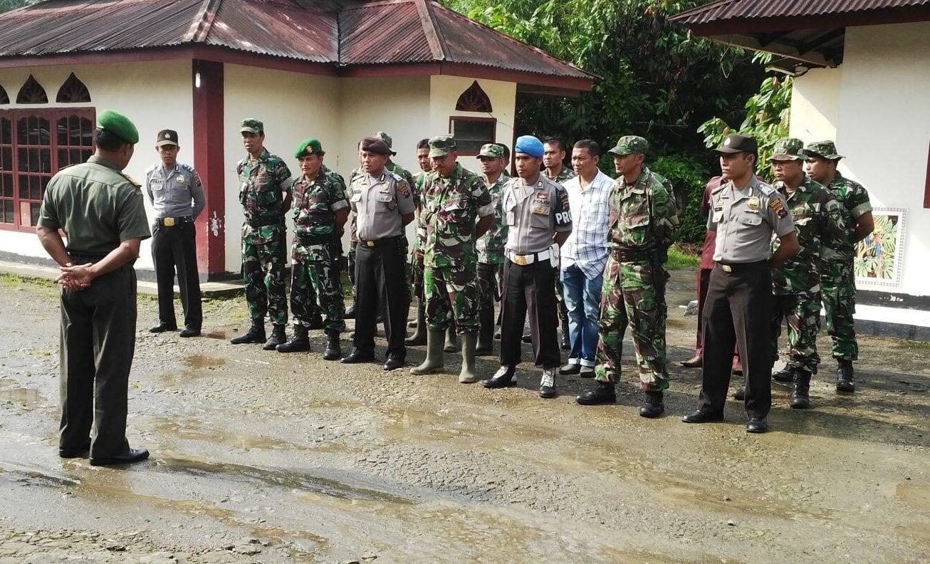 Dandim 0305/Pasaman, Jalin Kebersamaan TNI-Polri Melalui Kegiatan Apel Bersama