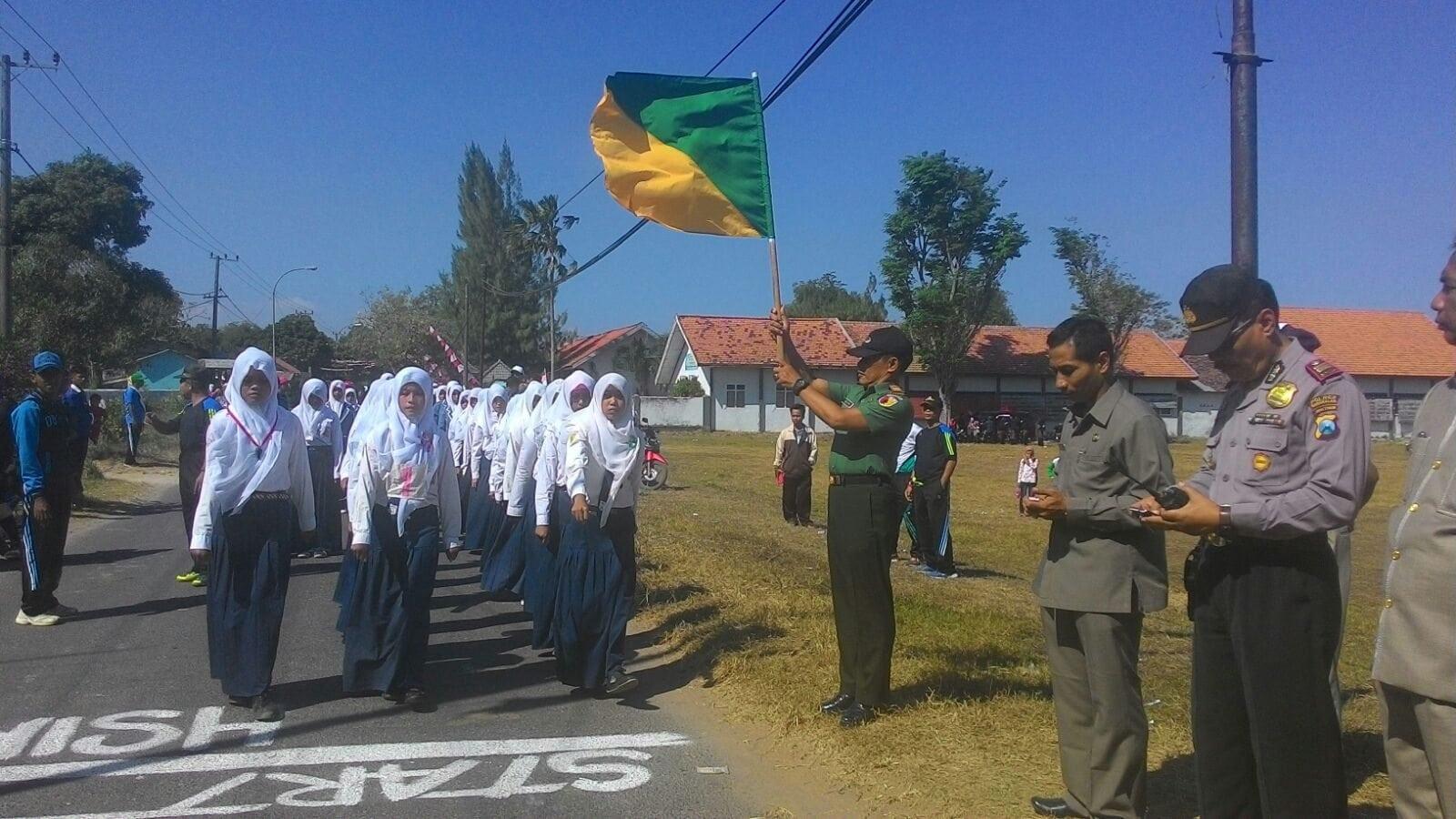 Peringati HUT RI ke 70, Seluruh Koramil Jajaran Kodim Bangkalan Gelar Lomba Baris Berbaris dan Karnaval