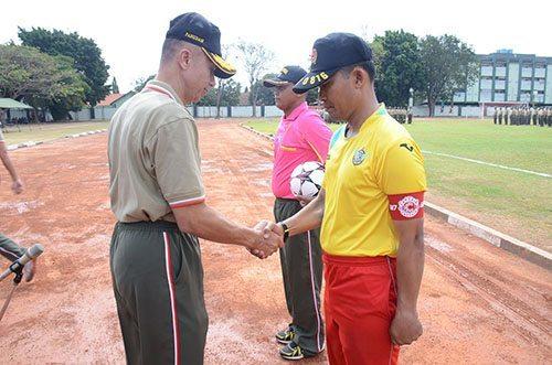 Pangdam V Brawijaya membuka Turnamen Pangdam Cup 2015