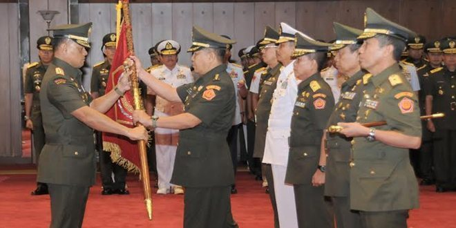 Sertijab Kapuskes TNI, Dansatkomlek TNI dan Kababek TNI