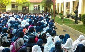 Wawasan Kebangsaan Dan Bela Negara Di SMK Solusi Bangsa Cikarang Barat