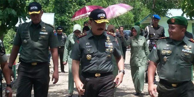 Pangdam XII/Tpr Silaturahmi bersama Prajurit Satgas Perbatasan