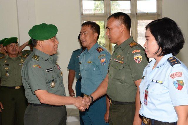 Penutupan Penataran Bintal Fungsi Komando Tingkat Pama TNI Angkatan LXXXIII