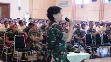 Denma Bintal Kodiklat TNI AD Selenggarakan Bintal Terpadu