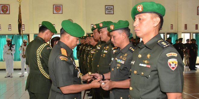 Acara Tradisi Dan Korp Raport Para Kasi Korem 161/Wira Sakti Dan Dandim 1602/Ende.