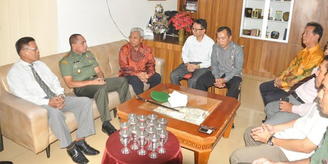 Pangdam I/BB Silaturahmi Ke Gereja Pantekosta Di Indonesia Maranatha