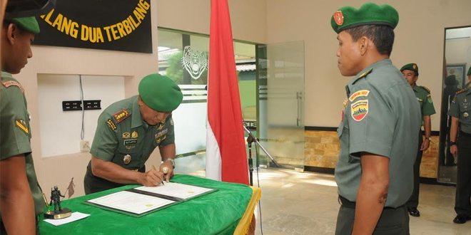 Danrem 063/Sgj Lepasan Kasrem Ketempat Tugas Baru Alih Tugas Meningkatkan Kinerja Organisasi