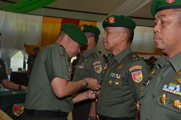 Serah Terima Jabatan Kasdam dan Irdam VII/Wirabuana