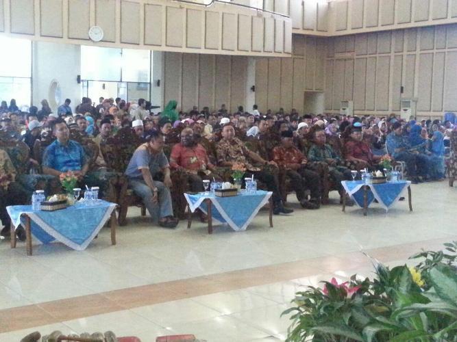 Pabintal Brigif 20/IJK hadiri silahturahmi dan Halal Bi Halal Yayasan Baitul Maal Hidayatulloh