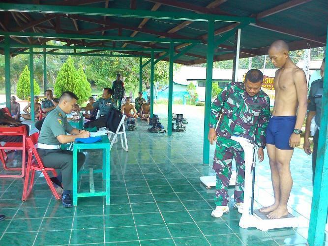 Seleksi Kecabangan Polisi Militer Siswa Dikmata TNI AD Gel I Thp I Ta 2015 Rindam XVII/Cenderawasih