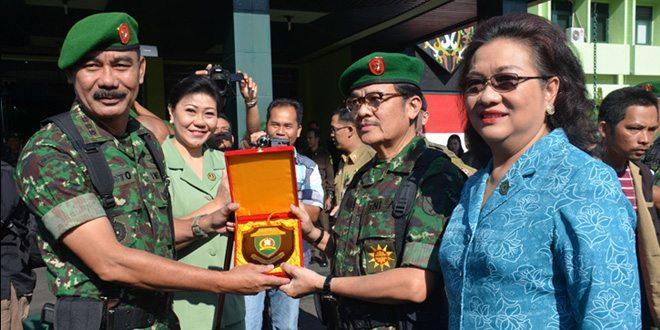 Pelepasan Gubernur Kalteng Sebagai Warga Kehormatan Kodam XII/Tanjungpura