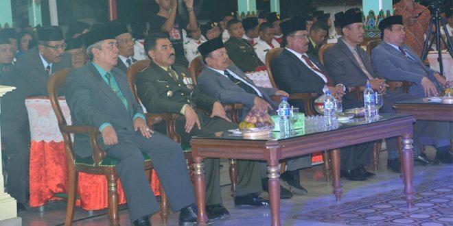 HUT Kemerdekaan RI Ke-70 di Kab. Madiun Diakhiri Dengan Malam Resepsi.