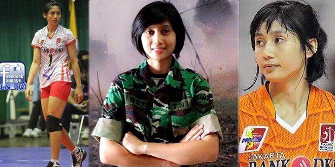 Serda Kowad Rindy Puspaningrum, Srikandi Voli dari TNI AD