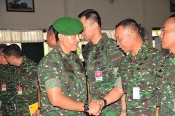 Komandan Kodiklat TNI AD Berikan Pembekalan Kepada Peserta Rabiniscab
