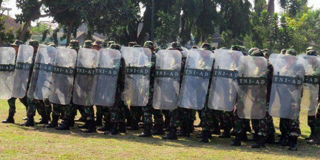 Kodim 0723/Klaten Melaksanakan Gelar Pasukan Dalam Rangka mempersiapkan