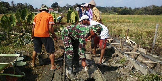 Kopka Karyadi Aktif Melaksanakan Pendampingan Upsus