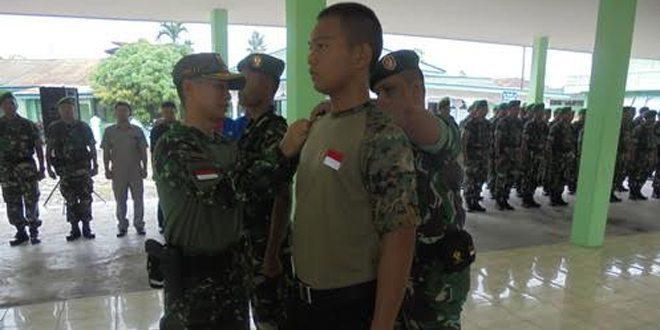 Eks GAM Ikut Latihan Bela Negara di Kodim Aceh Timur