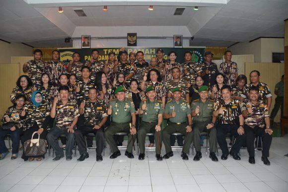 Pangdam I/Bb Temu Ramah Dengan Keluarga Besar FKPPI Simalungun Dan Pematang Siantar