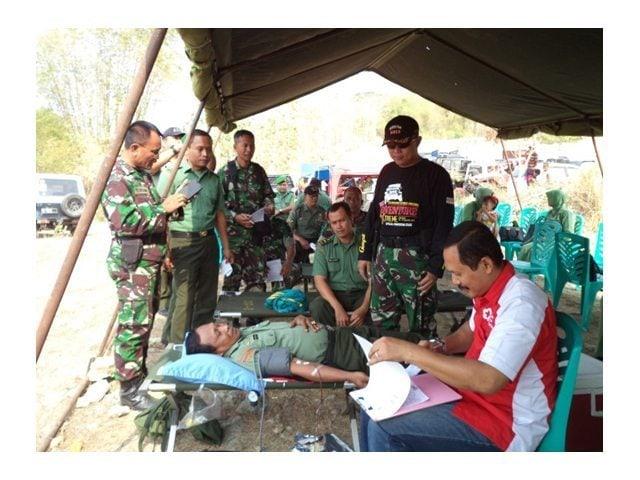 Foto – 1 Donor Darah Dim 0813 di Ds. Trucuk