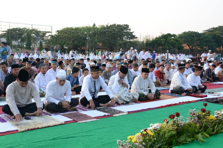 Sholat Idul Adha 1436 H di Lapangan Kodam V / Brawijaya