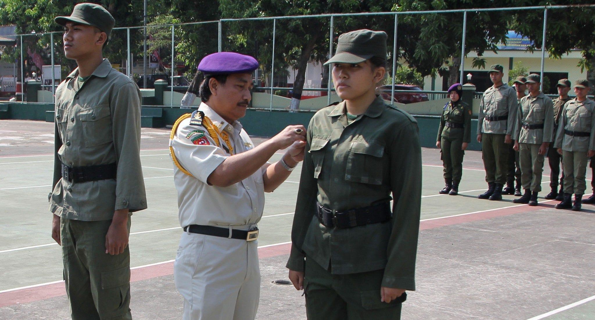 Menwa Satuan 923 Gondo Wingit UMK Gelar Pra Diksar di Kodim Kudus