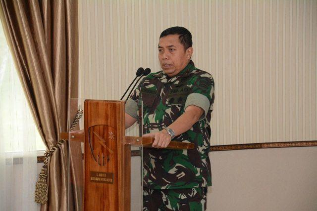 Danrem 031/Wirabima : Prajurit Kodim 0301/Pekanbaru Wajib Menjadikan TMMD Sebagai Tugas Negara dengan Semangat Gotong Royong