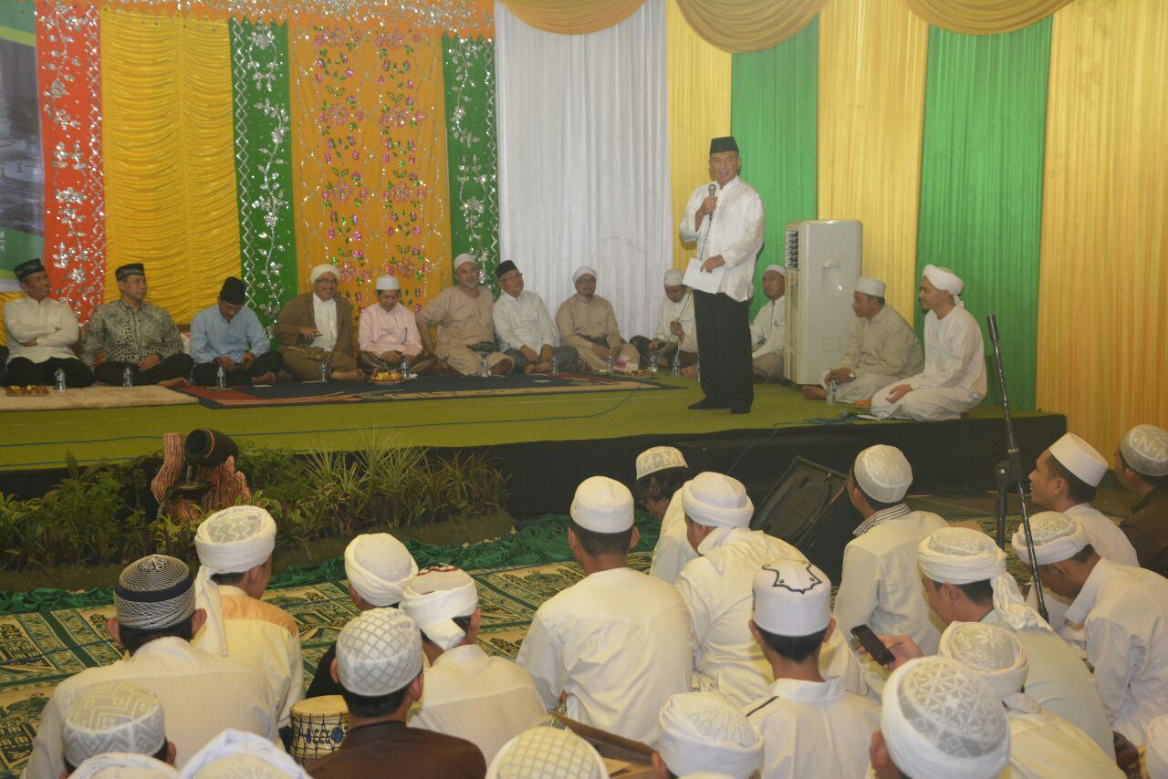 Kasdam Hadiri Peringatan 40 hari Wafatnya Habib Muhammad Ridho