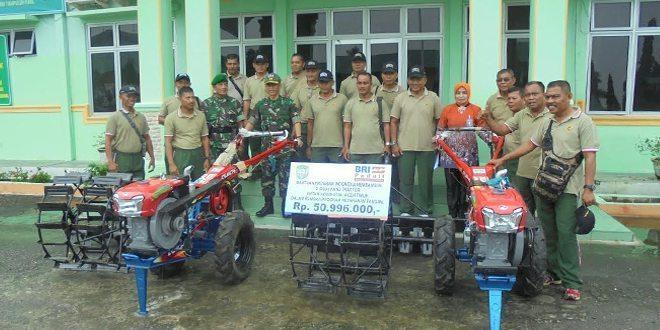 BRI Beri 2 hand tractor ke Kodim 0104/Atim