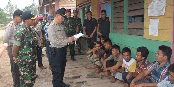 Pelaku Illegal Logging Diserahkan Kepihak Kepolisian