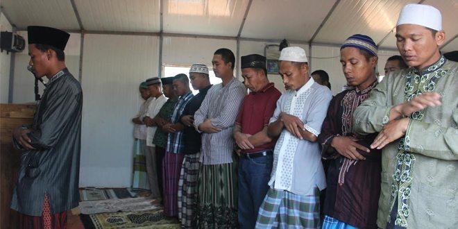 Kontingen Garuda XXXVII-B/Minusca Rayakan Idul Adha di Afrika