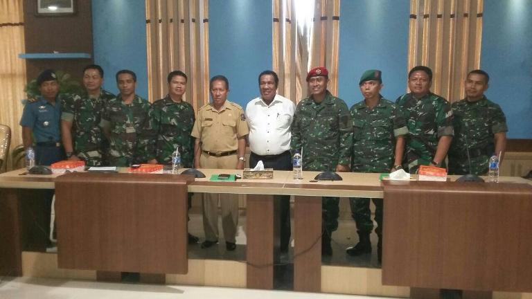 Tim Ekspedisi NKRI koridor Papua Barat kunjungi SKPD Kab.Kaimana