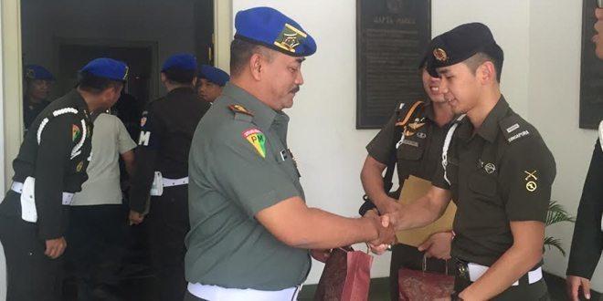 Pomdam Jaya Dikunjungi RAF Singapore Military Police