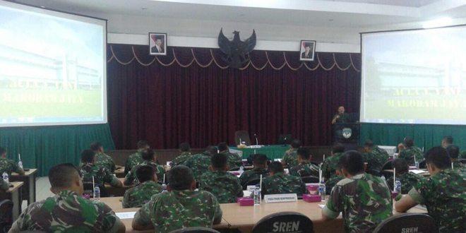 Rapat Panproggar Kodam Jaya