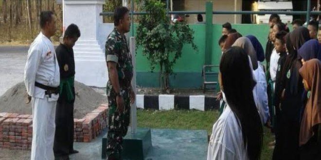 Serma Sugito Cegah Perkelahian antar Perguruan Bela Diri , di Bubulan Bojonegoro