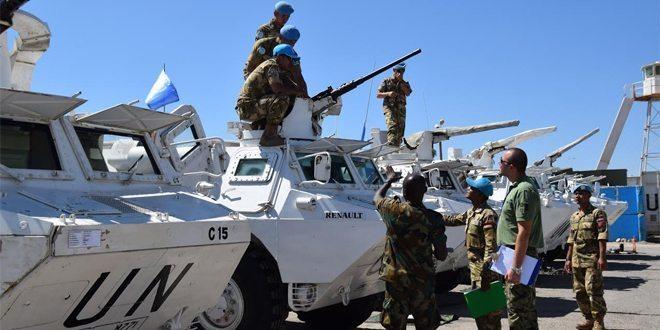 UNIFIL Periksa Kesiapan Operasional Batalyon Mekanis