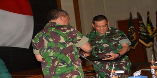 Tim Wasrik Itjenad Akhiri Tugas Di Lingkungan Kodiklat TNI AD