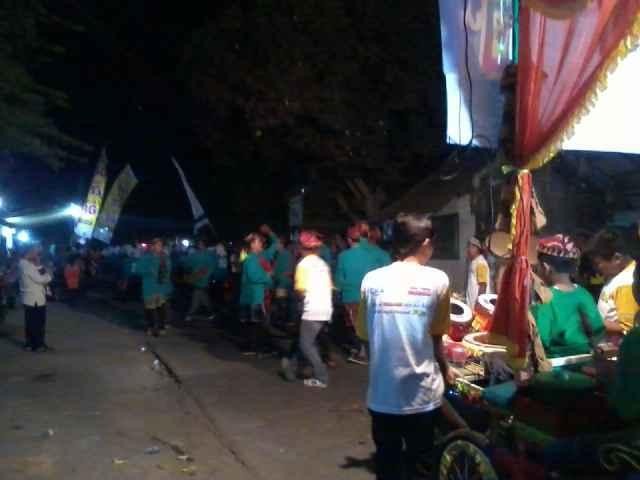 3 Pilar Kecamatan Bareng Mengadakan Lomba Patrol Dalam Menyambut Tahun Baru Islam 1437 Hijriah