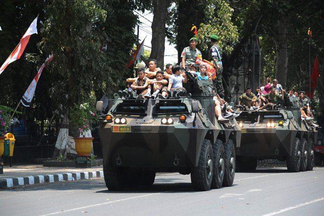 Pameran Alutsista dan Panggung Prajurit Ramaikan Kota Mataram