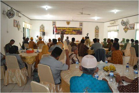 Kodim 0901/Smd Laksanakan Silaturahmi Dengan Keluarga Besar