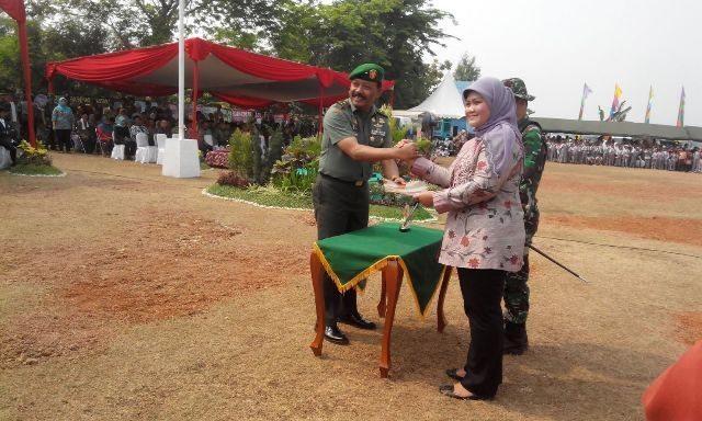 Pembukaan TMMD Kodam Jaya Ke-95 di Wilayah Kabupaten Bekasi
