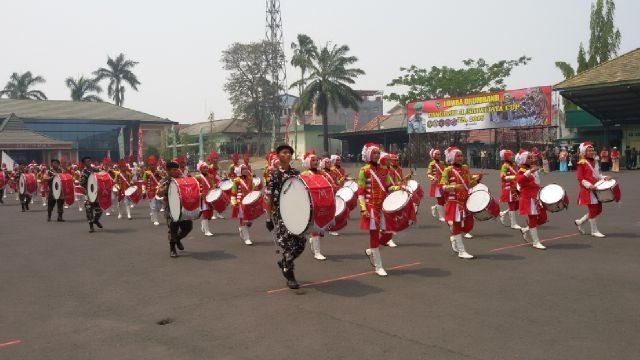 Lomba Drum Band Pangdam Cup
