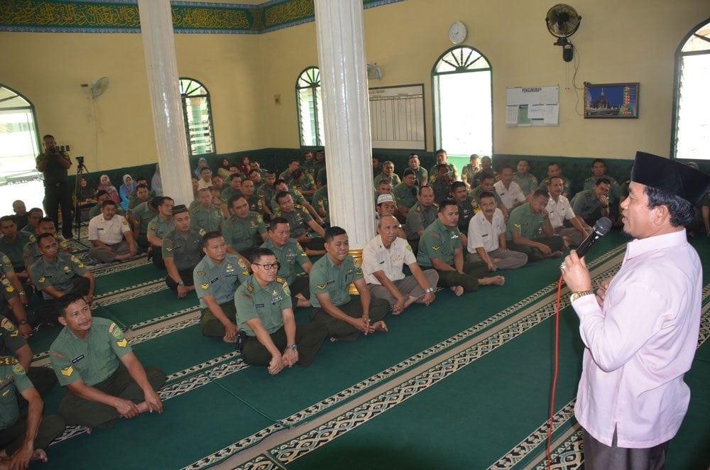 Korem 044/Gapo Peringati Tahun Baru Islam 1437 H
