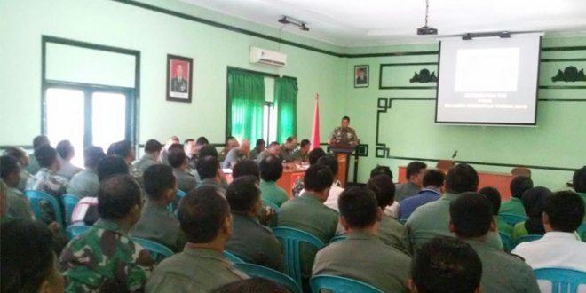 Dandim 0830/SU : Prajurit Tegaskan Prajurit TNI Harus Netral pada Pemilukada dan Pemilu