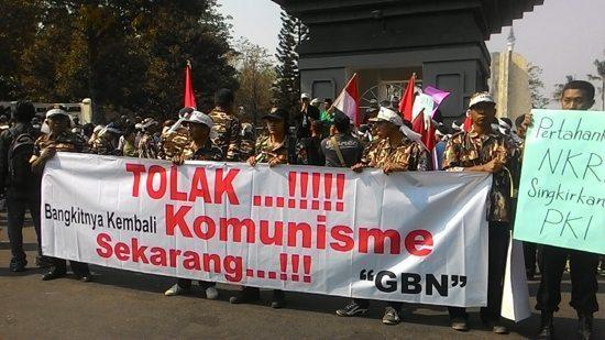 Rakyat Kediri Tolak Rekonsiliasi PKI