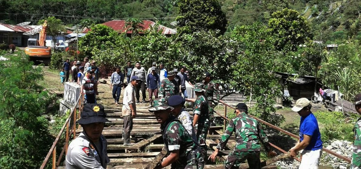 TMMD Imbangan Kodim 0106 ke-95 Sebagai Wujud Kemanunggalan TNI-Rakyat