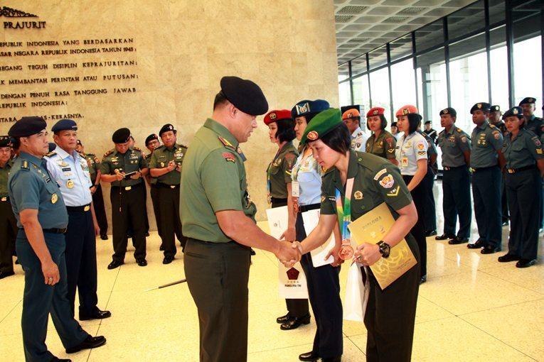 Atlet TNI Raih Medali Olimpiade Militer Dunia ke-6 di Korsel