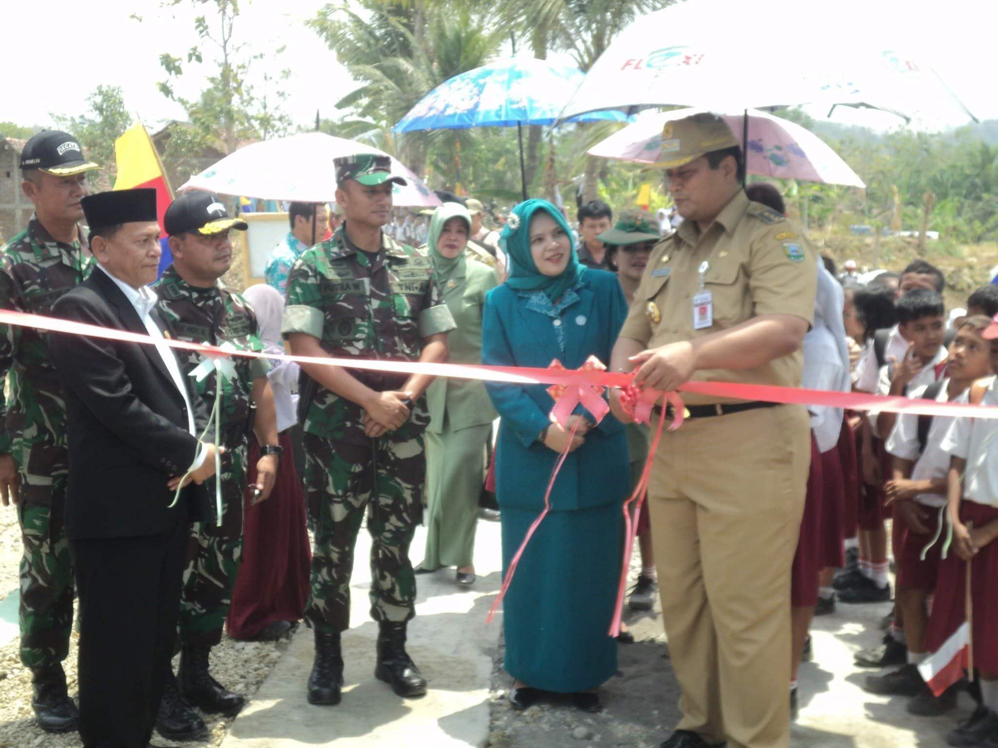 Kodim 0709/Kebumen Pimpin Upacara Tutup TMMD ke-95 Sengkuyung Tahap II